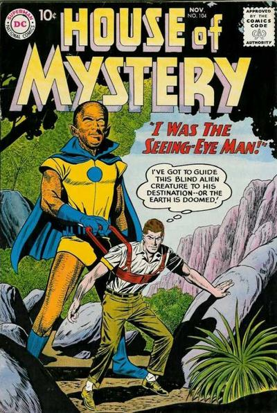 Cover for House of Mystery (DC, 1951 series) #104