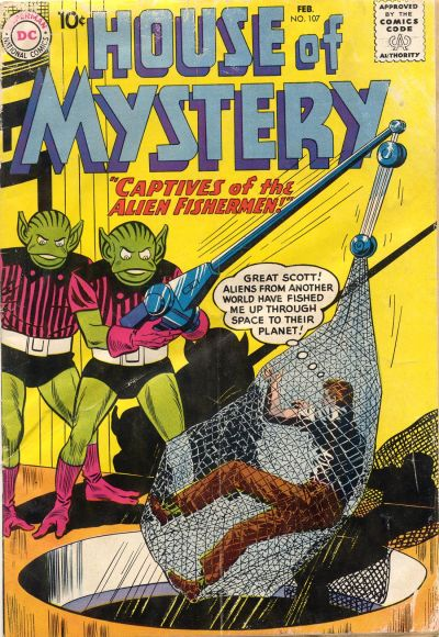 Cover for House of Mystery (DC, 1951 series) #107