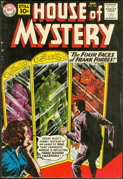 Cover for House of Mystery (DC, 1951 series) #108