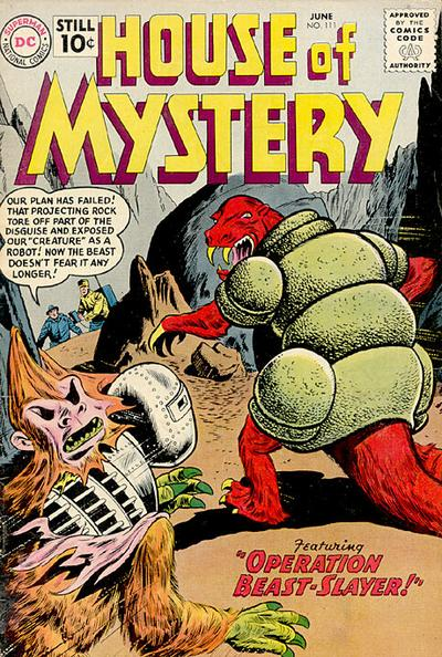 Cover for House of Mystery (DC, 1951 series) #111