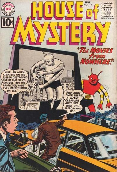 Cover for House of Mystery (DC, 1951 series) #114