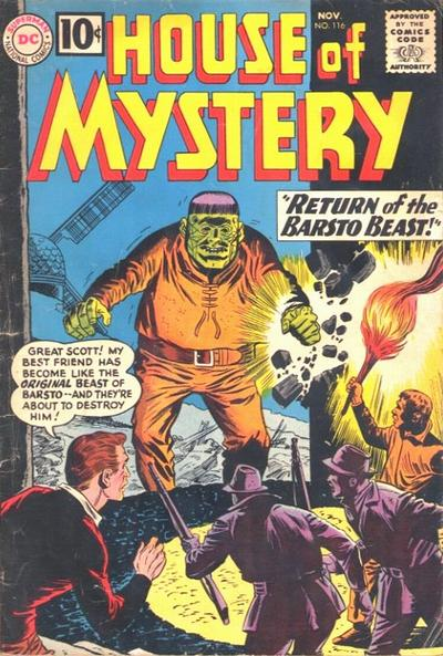Cover for House of Mystery (DC, 1951 series) #116