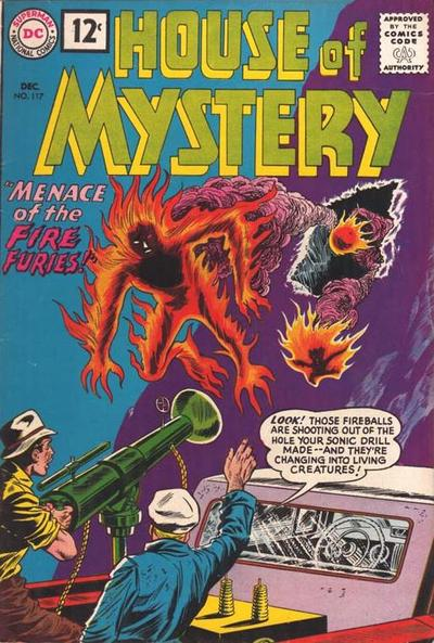 Cover for House of Mystery (DC, 1951 series) #117