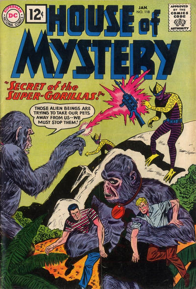 Cover for House of Mystery (DC, 1951 series) #118