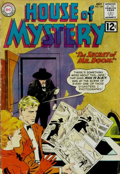 Cover for House of Mystery (DC, 1951 series) #124