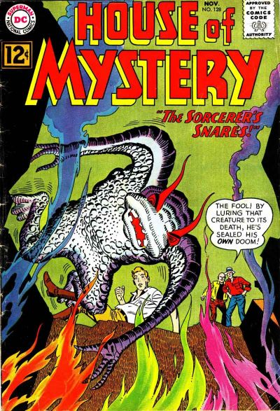 Cover for House of Mystery (DC, 1951 series) #128