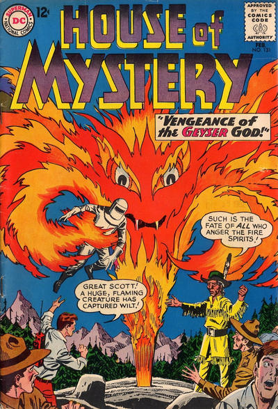 Cover for House of Mystery (DC, 1951 series) #131