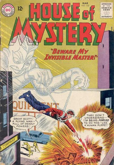 Cover for House of Mystery (DC, 1951 series) #132