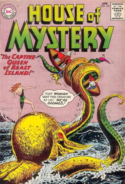 Cover for House of Mystery (DC, 1951 series) #133