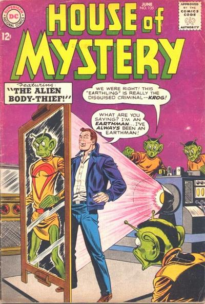 Cover for House of Mystery (DC, 1951 series) #135