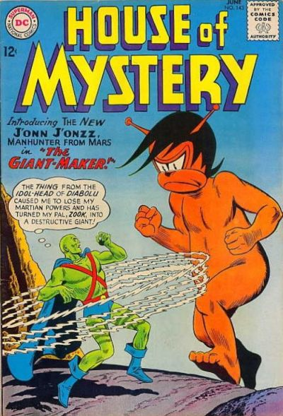 Cover for House of Mystery (DC, 1951 series) #143