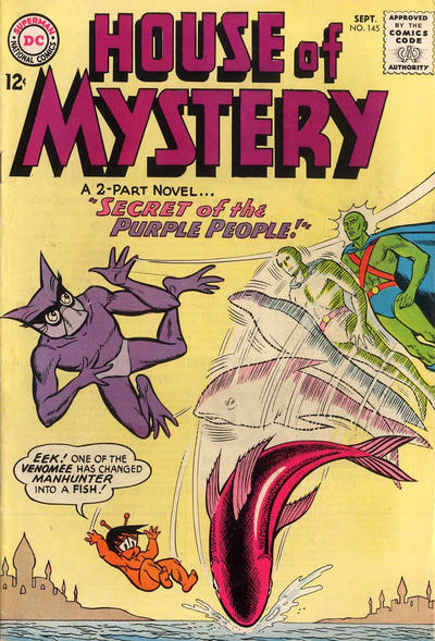 Cover for House of Mystery (DC, 1951 series) #145
