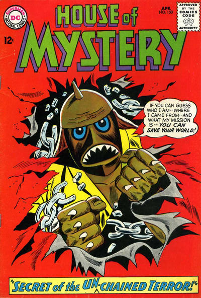Cover for House of Mystery (DC, 1951 series) #150