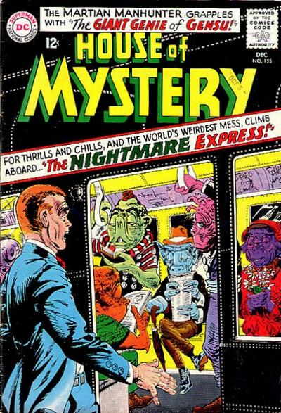 Cover for House of Mystery (DC, 1951 series) #155
