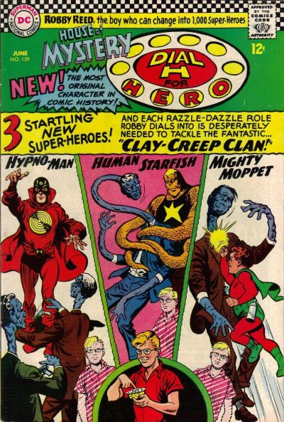 Cover for House of Mystery (DC, 1951 series) #159