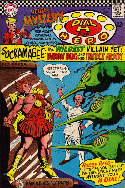 Cover for House of Mystery (DC, 1951 series) #163