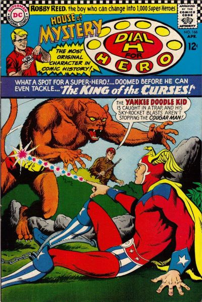 Cover for House of Mystery (DC, 1951 series) #166