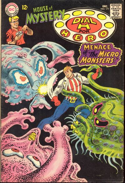 Cover for House of Mystery (DC, 1951 series) #171