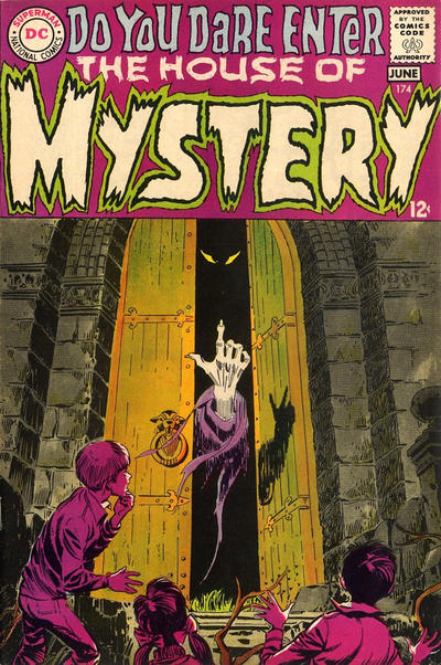 Cover for House of Mystery (DC, 1951 series) #174