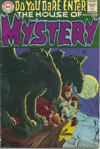 Cover for House of Mystery (DC, 1951 series) #175