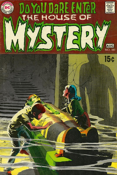 Cover for House of Mystery (DC, 1951 series) #181