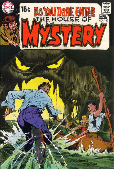 Cover for House of Mystery (DC, 1951 series) #185