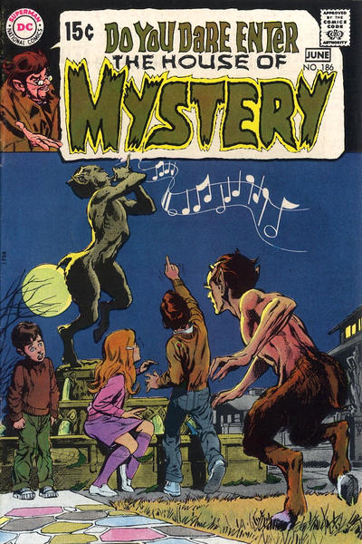 Cover for House of Mystery (DC, 1951 series) #186
