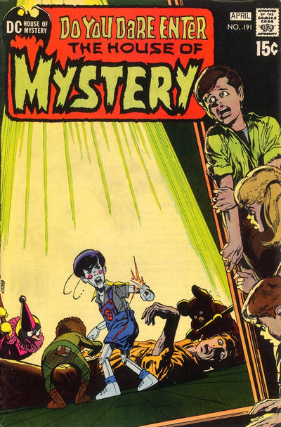 Cover for House of Mystery (DC, 1951 series) #191