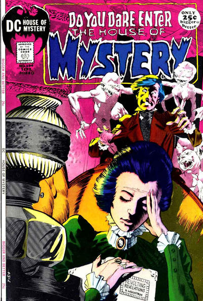 Cover for House of Mystery (DC, 1951 series) #194