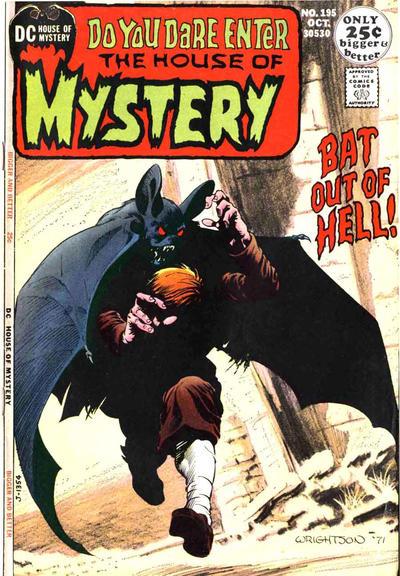 Cover for House of Mystery (DC, 1951 series) #195