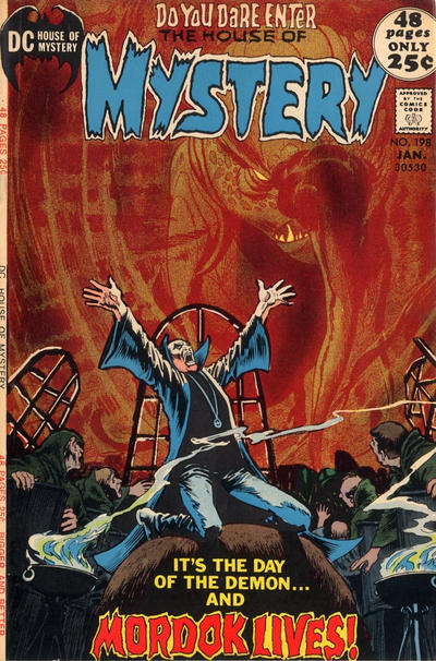 Cover for House of Mystery (DC, 1951 series) #198