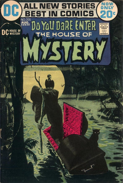 Cover for House of Mystery (DC, 1951 series) #205