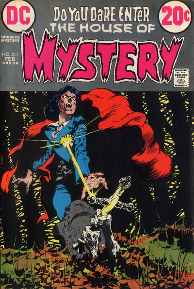 Cover for House of Mystery (DC, 1951 series) #211