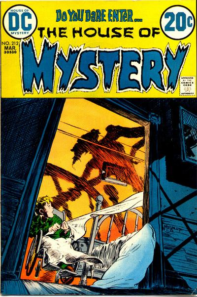 Cover for House of Mystery (DC, 1951 series) #212