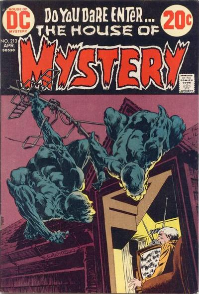 Cover for House of Mystery (DC, 1951 series) #213