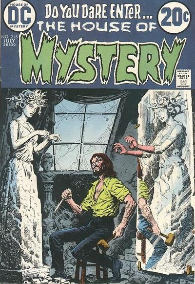 Cover for House of Mystery (DC, 1951 series) #215