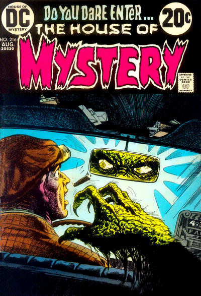 Cover for House of Mystery (DC, 1951 series) #216