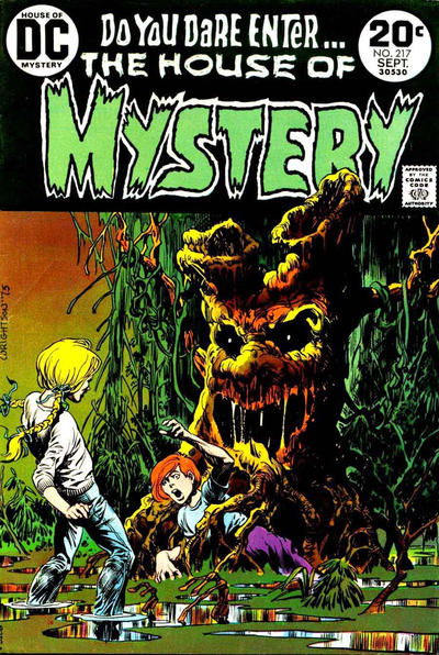 Cover for House of Mystery (DC, 1951 series) #217