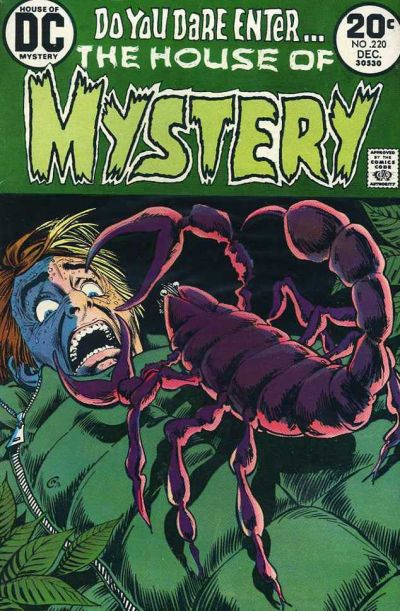 Cover for House of Mystery (DC, 1951 series) #220