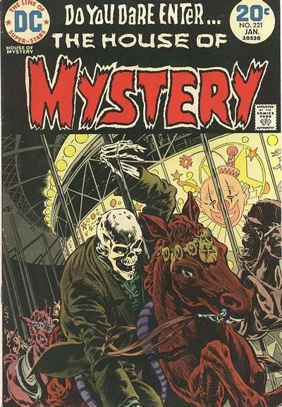 Cover for House of Mystery (DC, 1951 series) #221