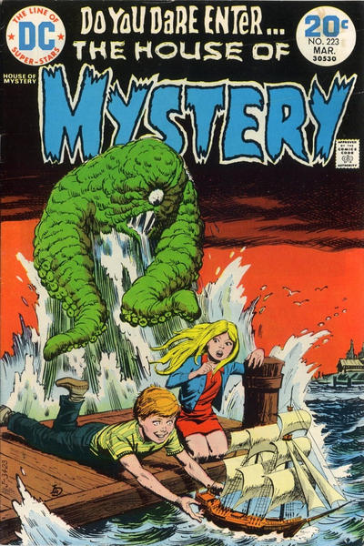 Cover for House of Mystery (DC, 1951 series) #223