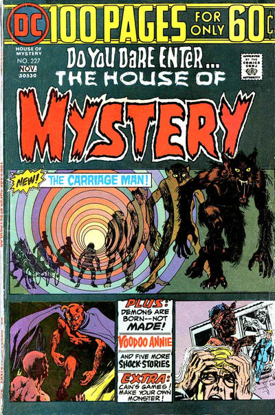 Cover for House of Mystery (DC, 1951 series) #227