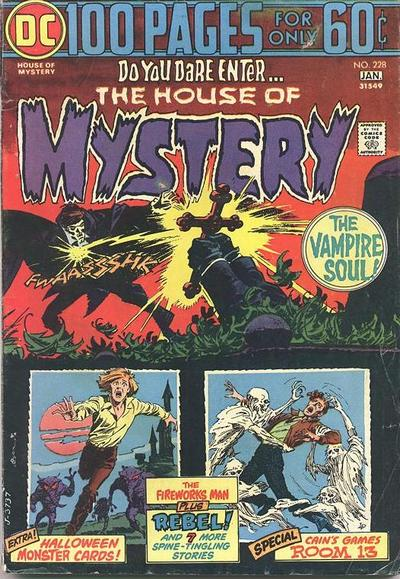 Cover for House of Mystery (DC, 1951 series) #228
