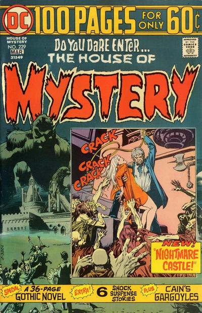 Cover for House of Mystery (DC, 1951 series) #229