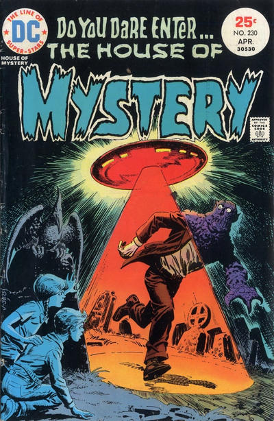 Cover for House of Mystery (DC, 1951 series) #230