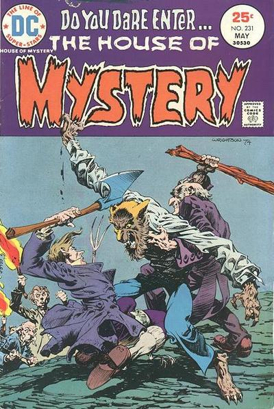Cover for House of Mystery (DC, 1951 series) #231