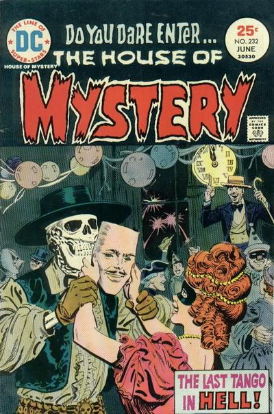 Cover for House of Mystery (DC, 1951 series) #232