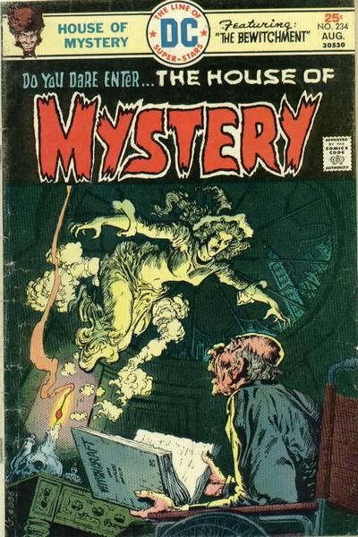 Cover for House of Mystery (DC, 1951 series) #234