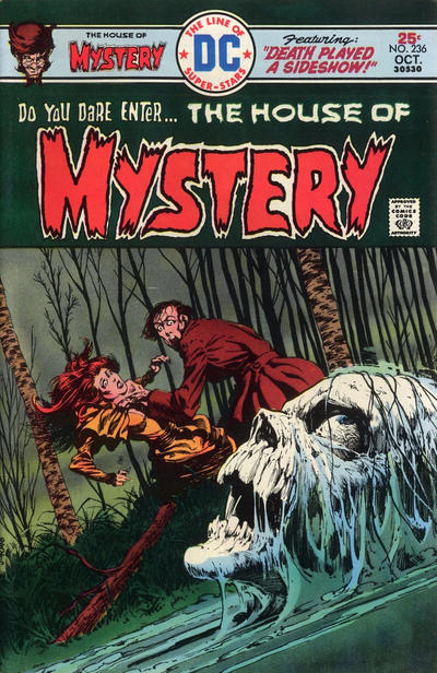 Cover for House of Mystery (DC, 1951 series) #236