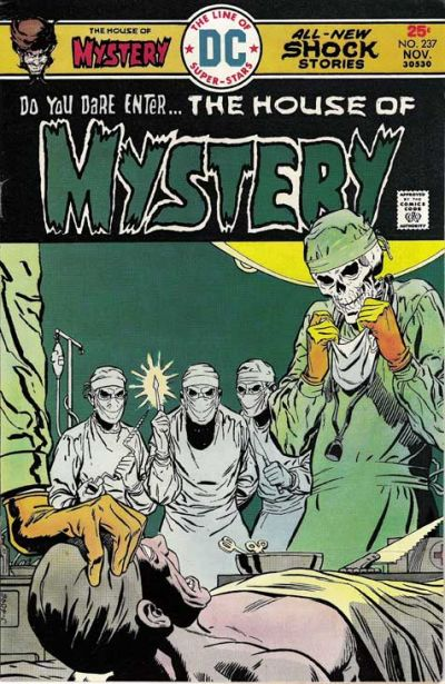 Cover for House of Mystery (DC, 1951 series) #237